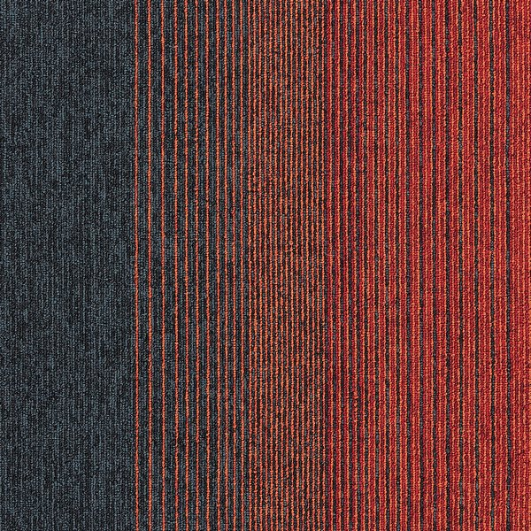 Interface Employ Lines Sunset 4223005 Carpet Tiles Free